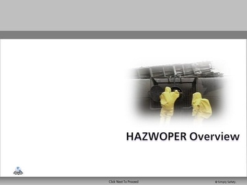 HAZWOPER Overview V2.16 Course