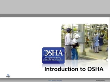 Introduction to OSHA V2.16