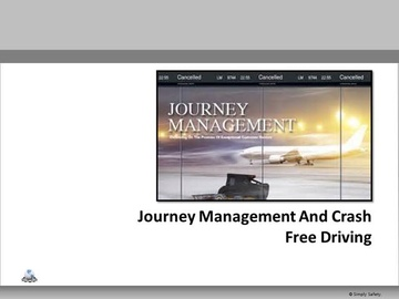 Journey Management V2.16 Course