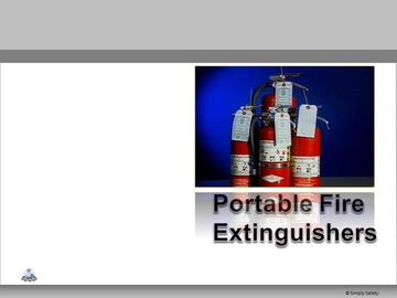 Portable Fire Extinguishers V2.16 Course
