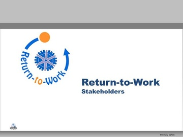 Return to Work V2.16 Course