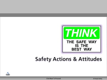 Safety Attitudes and Actions V2.16 Course
