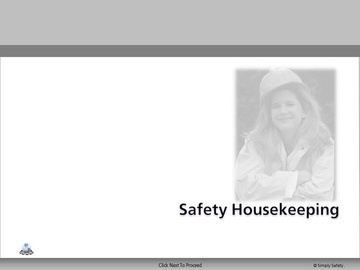 Safety Housekeeping V2.16 Course