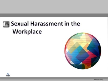 Sexual Harassment in the Workplace V2.6 Course