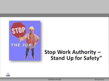 Stop Work V2.6 Course
