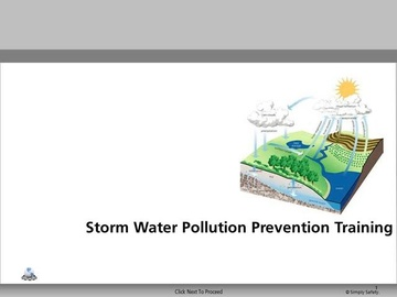 Stormwater Pollution Prevention Training V2.6 Course