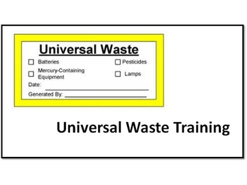 Universal Waste V2.6 Course