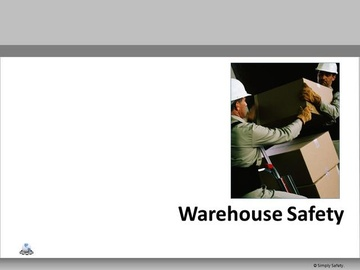 Warehouse Safety V2.6 Course