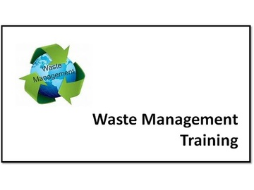 Waste Management Training V2.6 Course
