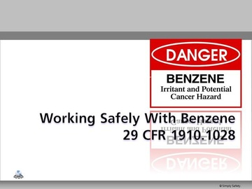 Working with Benzene V2.6 Course