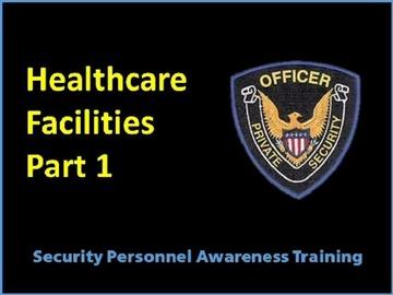 Healthcare Facilites Part 1 Sensitive Areas