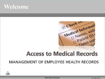 Access to Medical Records V2.16 Course