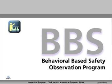 Behavior Based Safety V2.16 Course