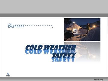 Cold Weather Safety V2.16 Course