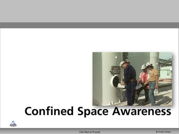 Confined Space Awareness V2.16 Course