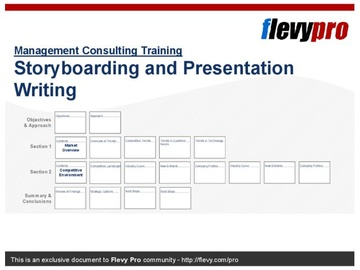 Storyboarding and Presentation Writing