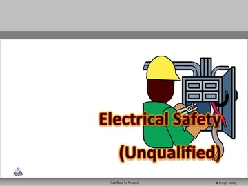 Electrical Safety Unqualified V2.16 Course