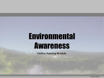 Environmental Awareness V2.16 Course