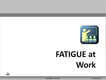 Fatigue at Work V2.16 Course
