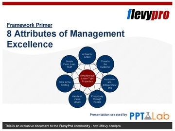 8 Attributes of Management Excellence (Course)