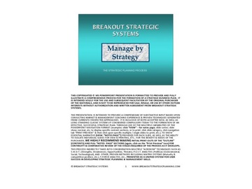 Breakout Strategic Planning Process (Course)