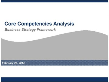 Core Competencies Analysis (Course)