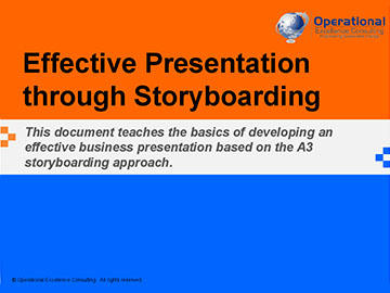 Effective Presentation through Storyboarding (Course)