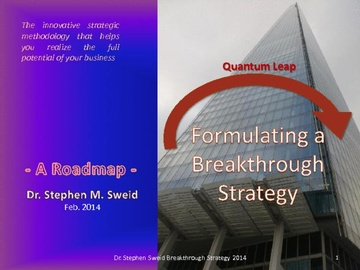 Formulating a Breakthrough Strategy (Course)