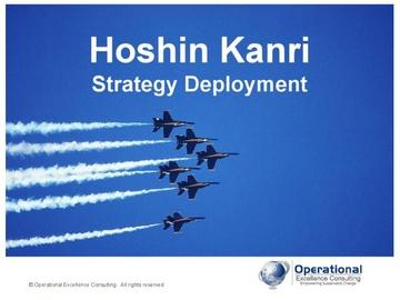 Hoshin Kanri Strategy Deployment (Course)