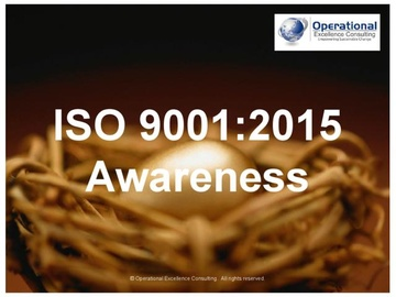 ISO 9001:2015 (QMS) Awareness Training (Course)
