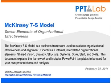 McKinsey 7-S Strategy Model (Course)