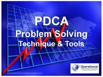 PDCA Problem Solving Technique & Tools (Course)