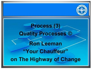 Process (3) - Quality Processes (Course)