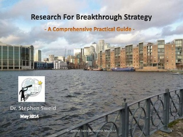 Research for Breakthrough Strategy: The Quest (Course)