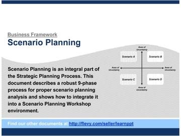 Scenario Planning (Course)