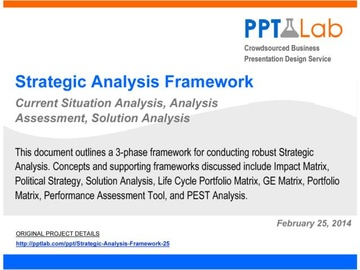 Strategic Analysis Framework (Course)