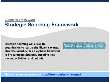 Strategic Sourcing (Course)
