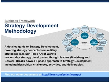 Strategy Development Methodology (Course)