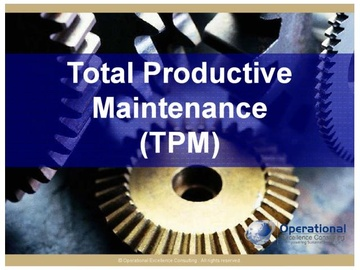 Total Productive Maintenance (TPM) (Course)