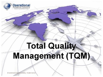 Total Quality Management (TQM) (Course)