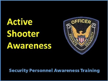 Active Shooter Awareness Course