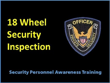 18 Wheel Inspection Course