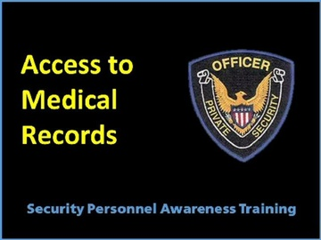 Access to Medical Records Course