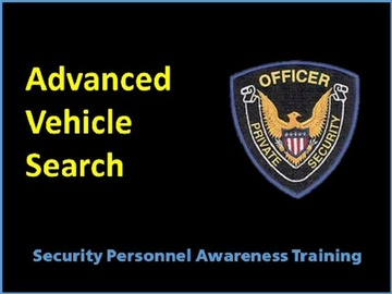 Advanced Vehicle Search Course