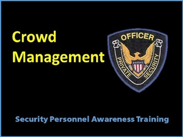 Crowd Management Course