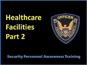 Healthcare Facilites Part 2