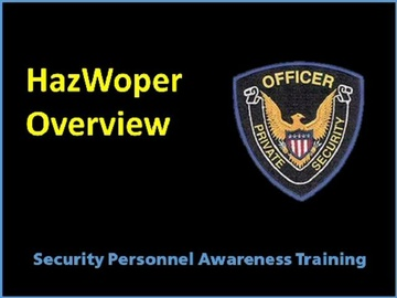 HazWoper Overview Course