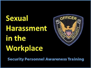 Sexual Harassment in the Workplace Course