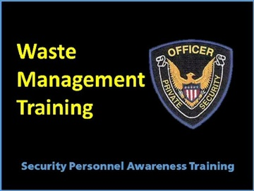 Waste Management Training Course