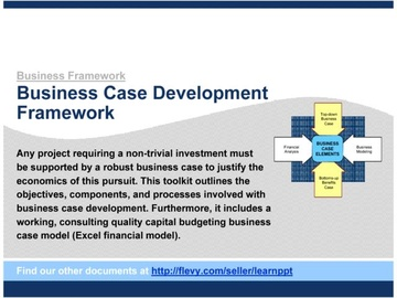 Business Case Development Framework (Course)